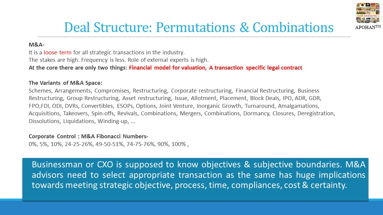 Deal structure equity funding MSME SMB